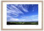 《アートフォト》伸びやかな雲/上富良野町〔富良野・高橋真澄〕(レンタル対象)