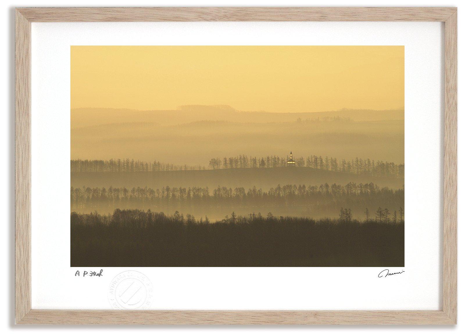 《アートフォト》【ベスト】日の出の丘2/上富良野町〔富良野・高橋真澄〕(レンタル対象)