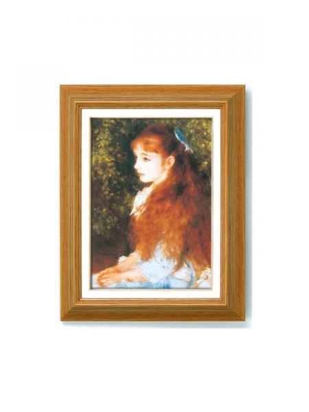 《アートフレーム》ルノワール名画額F4 「可愛いイレーネ」