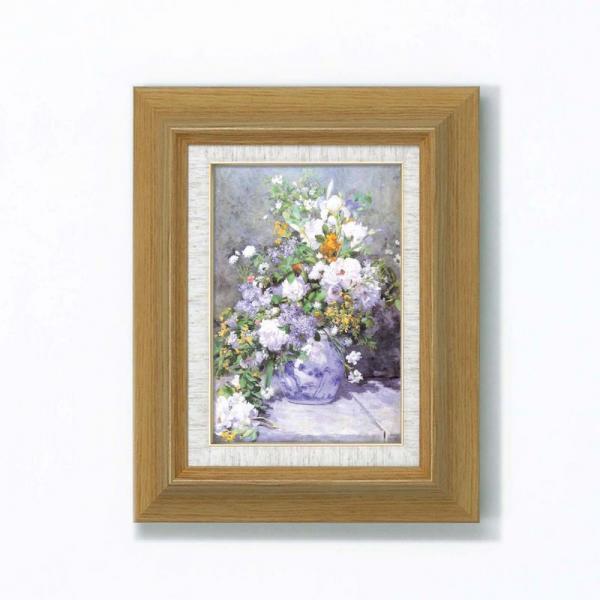 《名画》ルノワール名画額サム 「花瓶の花」