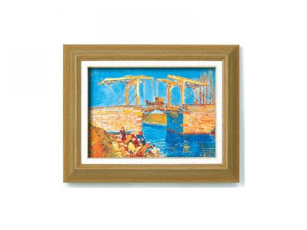 《アートフレーム》ゴッホ名画額F4 「アルルのはね橋」