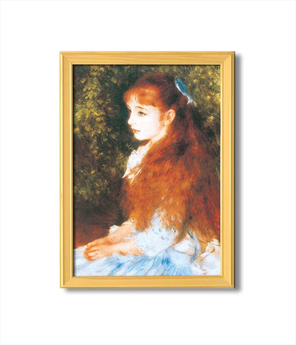 《アートフレーム》ルノワール/可愛いイレーネ 名画額A3