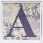 アルファベット アートフレーム A