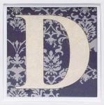 アルファベット アートフレーム D