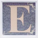 アルファベット アートフレーム E