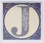 アルファベット アートフレーム J