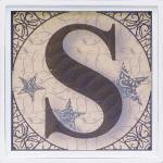 アルファベット アートフレーム S