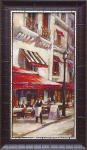 《絵画》ブレント ヘイトン カフェ マルセイユ