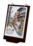 《絵画》糸井忠晴 - Daily art - ブラウン(ゆうパケット)