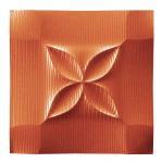 プラデック ウォール アート フラッシュ (メタルオレンジ) ●ポルトガル製