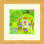 《水彩画》Harumi Kurinoki-S 庭ごはん〔栗乃木ハルミ くりのきはるみ〕