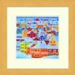 《水彩画》Harumi Kurinoki-S suger town〔栗乃木ハルミ くりのきはるみ〕