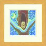 《水彩画》Harumi Kurinoki-S 森の番人〔栗乃木ハルミ くりのきはるみ〕