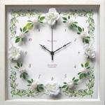 《時計》RoseGarden clock White(ローズガーデン クロック ホワイト)