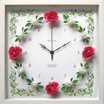 《時計》RoseGarden clock Vivid Pink(ローズガーデン クロック ビビッドピンク)