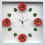 《時計》Gerbera Clock Orange(ガーベラ クロック オレンジ)
