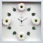 《時計》Gerbera Clock White(ガーベラ クロック ホワイト)