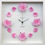 《時計》Rose clock Vivid Pink(ローズ クロック ビビッドピンク)