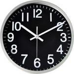 《時計》Basic Design Clock BK (ベーシック デザイン クロック )