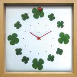 《時計》Display clock Clover with Ladybug(ディスプレイ クロック クローバーとてんとうむし)