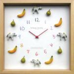 《時計》Display clock Zebra(ディスプレイ クロック しまうま)