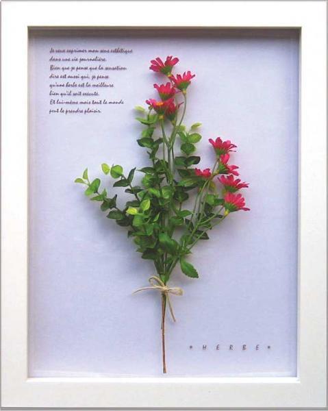 《ハーブフレーム》Herbe frame Ster Flower/Pink