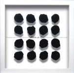 《フラワーフレーム》Rose Petal Black(ローズペタル ブラック)
