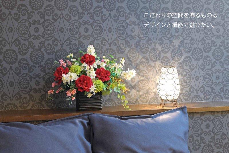 《アートフラワー》ポールスピンク/光触媒〔テーブルタイプ〕