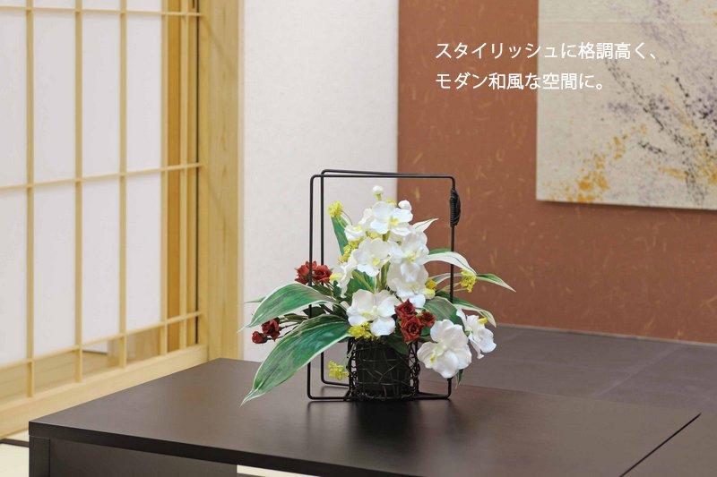 《アートフラワー》クリアローズ/光触媒〔テーブルタイプ〕