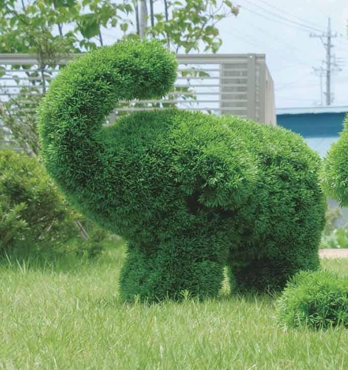 《ガーデングリーン》ゾウS〔ガーデンタイプ〕人気作品