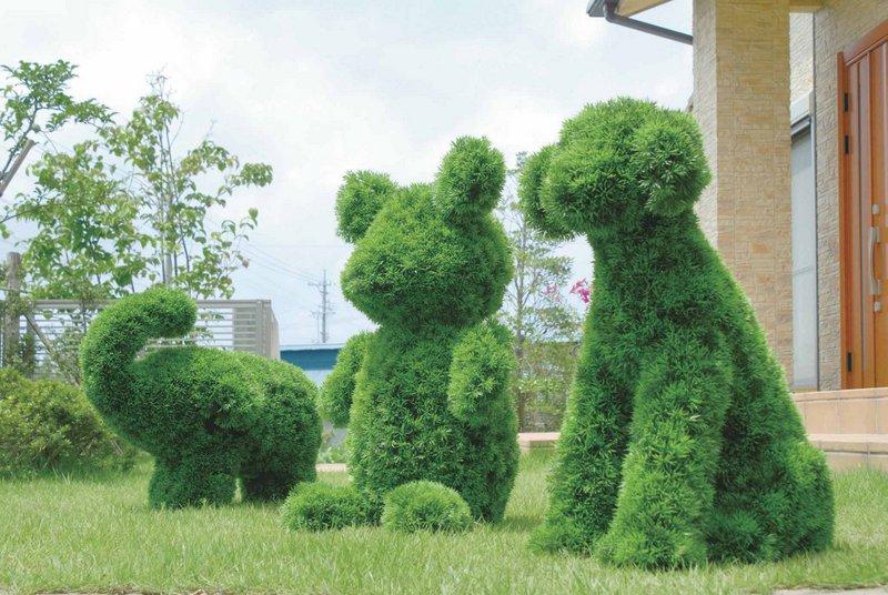 《ガーデングリーン》ゾウL〔ガーデンタイプ〕人気作品