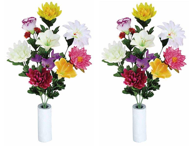 《光触媒仏花》仏花ゆり2個セット