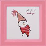 《アートフレーム》リトルピンク&ブロキガ ミニ アート フレーム ブロキガ5(ゆうパケット)