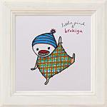 《アートフレーム》リトルピンク&ブロキガ ミニ アート フレーム ブロキガ15(ゆうパケット)