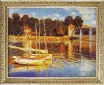 《絵画》ミュージアム シリーズ モネ「アルジャントゥイユの橋」