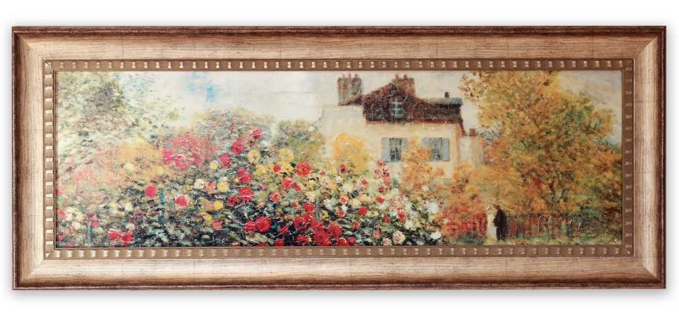《名画》ミュージアム シリーズ LLサイズ モネ 「庭園のアーチスト」