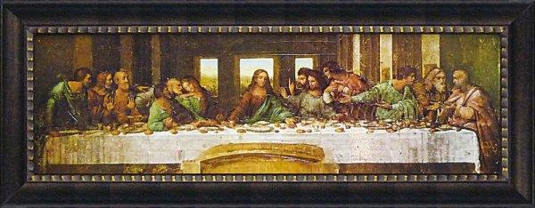 《名画》ミュージアム シリーズ LLサイズ レオナルド・ダ・ヴィンチ「最後の晩餐」