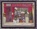 《絵画》ミニゲル アートフレーム ジェームス ウィーンズ 「フルール & ブロカンテ」(ゆうパケット)