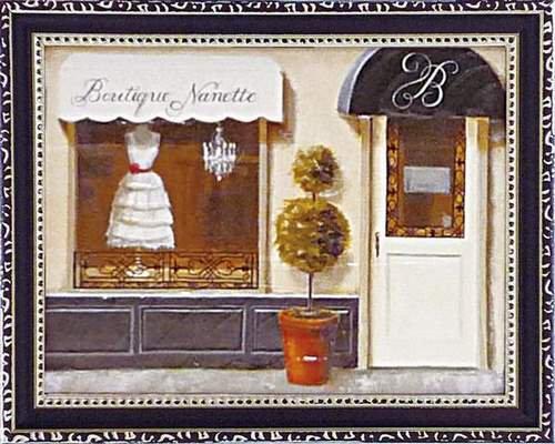 《絵画》ミニゲル アートフレーム マルコ ファビアノ 「ブティック ナネット」(ゆうパケット)