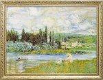 《名画》ミュージアム シリーズ モネ 「Vetheuil sur Seine 1880」