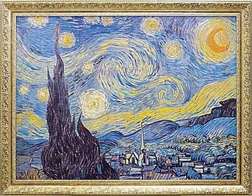 《名画》ミュージアム シリーズ ゴッホ 「Starry Night 1889」