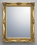 《ミラー》アンティーク スタイル ミラー(ゴールド)