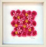 《フラワーフレーム》Heart Series Rose Red(ハート シリーズ ローズ レッド)