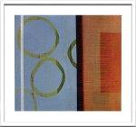 《絵画・抽象画》Sybille Hassinger 0349 (Aquarelle)(シビル ハッシンジャー アクワレル/水彩画)