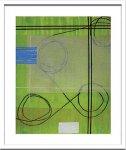 《絵画・抽象画》Sybille Hassinger 0348 (Aquarelle)(シビル ハッシンジャー アクワレル/水彩画)
