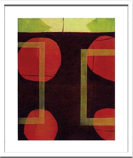 《絵画・抽象画》Sybille Hassinger HAS917 (Digtalprint)(シビル ハッシンジャー)