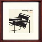 《アートフレーム》Modern Design Studio Wassily Chair(モダン・デザイン・スタジオ ワシリーチェア)