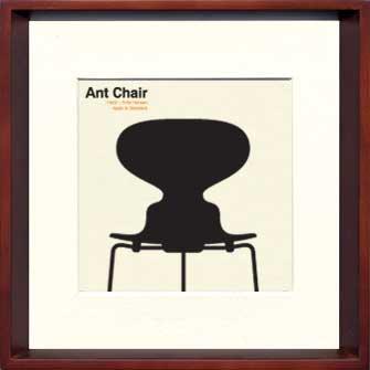 《アートフレーム》Modern Design Studio Ant Chair(モダン・デザイン・スタジオ アントチェア)