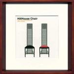 《アートフレーム》Modern Design Studio HillHouse Chair(モダン・デザイン・スタジオ ヒルハウス チェア)