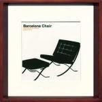 《アートフレーム》Modern Design Studio Barcelona Chair(モダン・デザイン・スタジオ バルセロナ チェア)